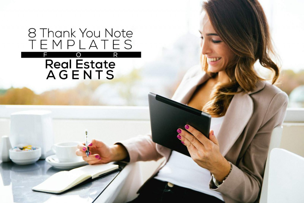 8 Thank you note templates for realtors